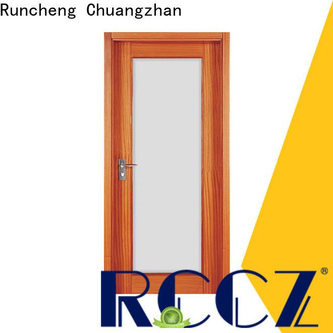 Runcheng Chuangzhan modern internal doors manufacturers for hotels
