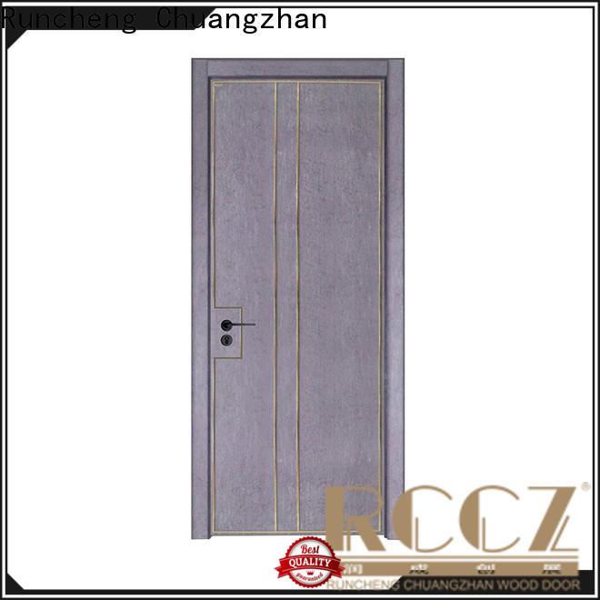 Runcheng Chuangzhan Best modern interior doors factory for hotels