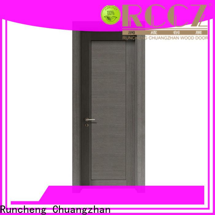 Custom new wood door for business for indoor