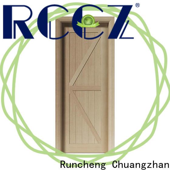 Runcheng Chuangzhan Wholesale white internal wood door suppliers for hotels
