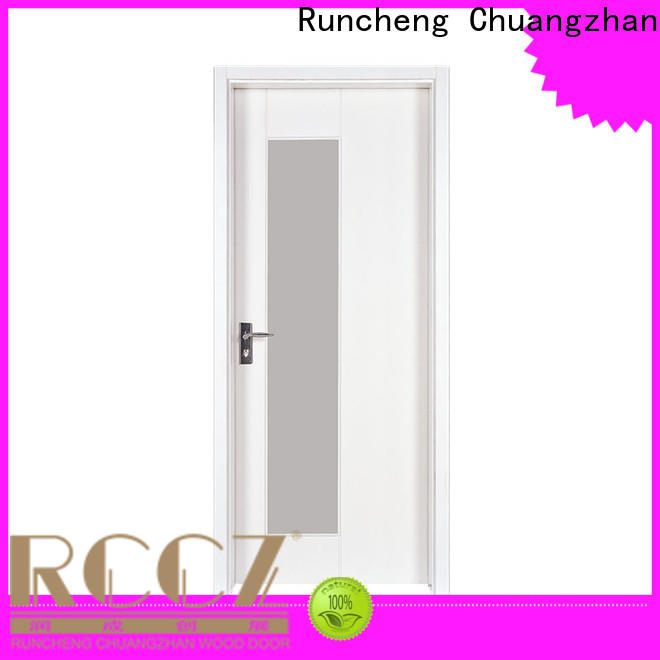Runcheng Chuangzhan simple wood door for business for indoor