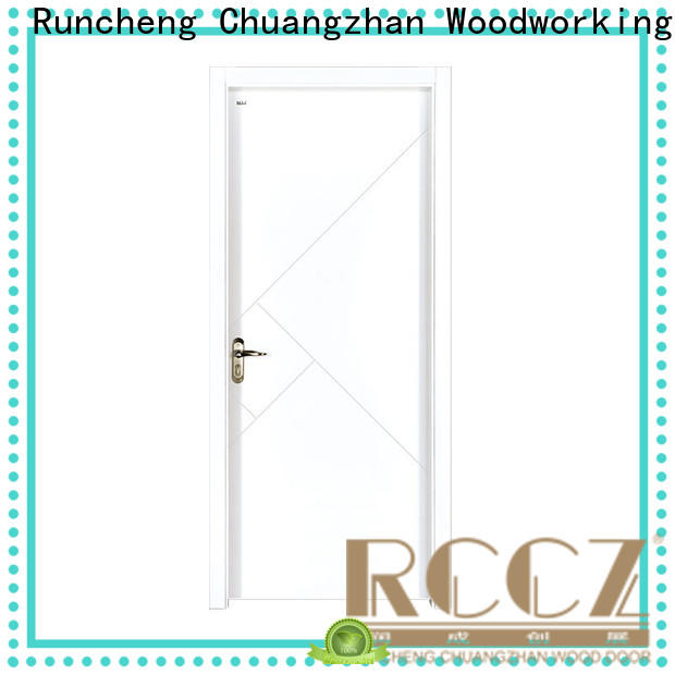 Runcheng Chuangzhan paint wooden door suppliers for villas