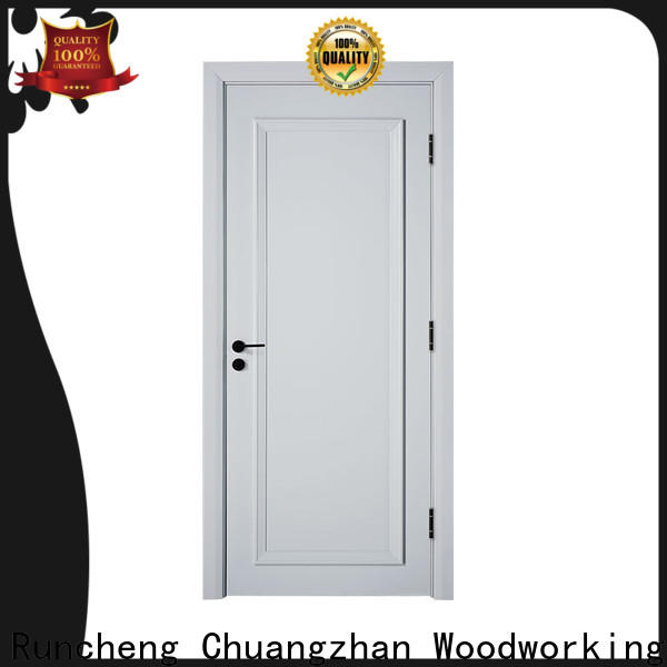 Runcheng Chuangzhan white wooden internal doors suppliers for hotels
