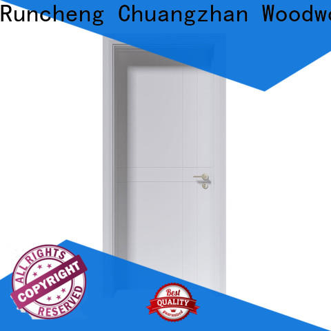 Runcheng Chuangzhan white wooden internal doors manufacturers for villas