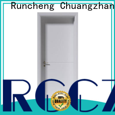 Runcheng Chuangzhan Custom paint interior wood doors supply for homes