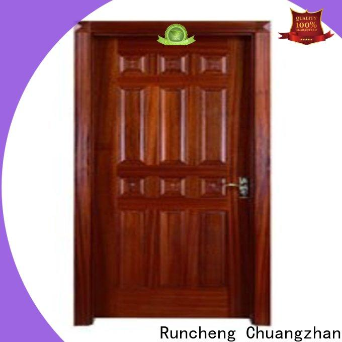 Runcheng Chuangzhan High-quality bedroom door cost company for indoor