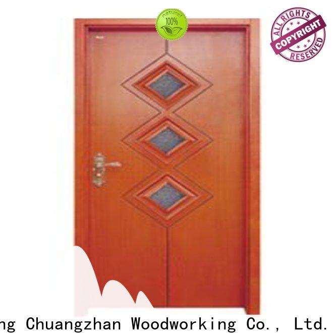 High-quality white glazed interior doors door supply for offices