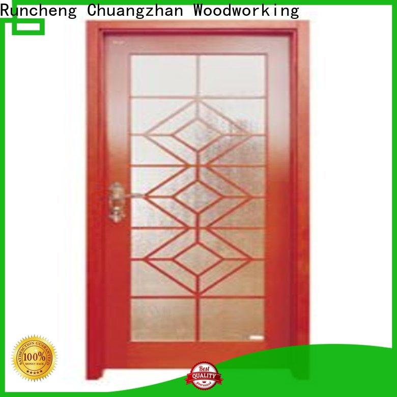 High-quality internal glazed double doors high-grade company for offices
