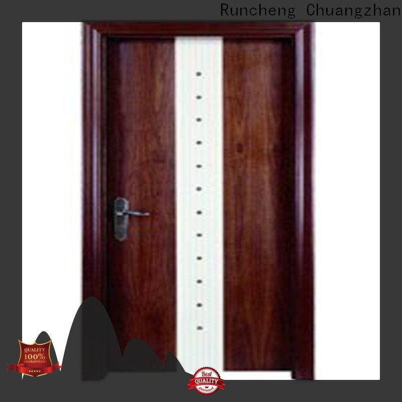 Latest wooden bedroom door bedroom factory for villas