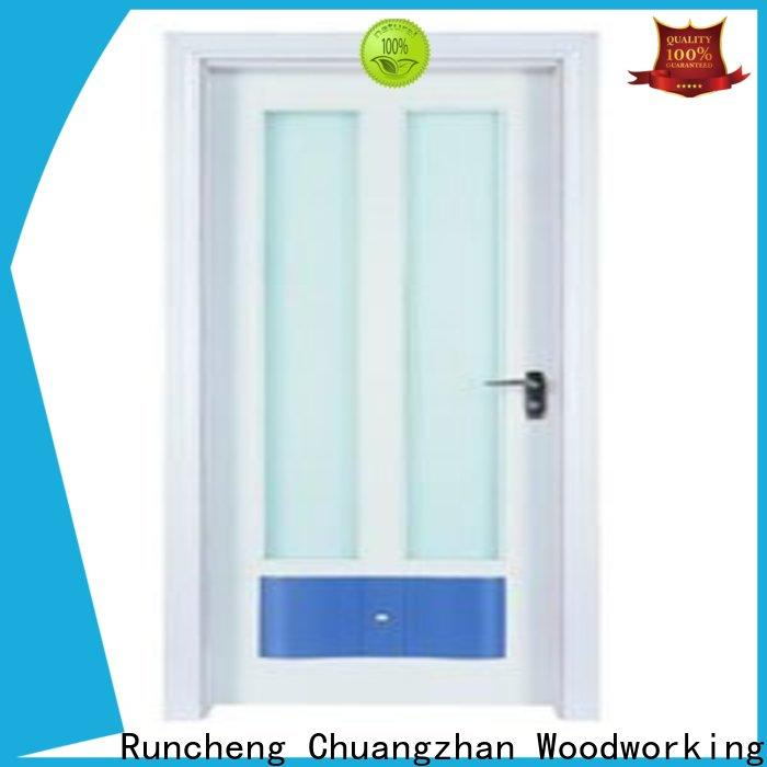High-quality wooden double glazed doors high-grade supply for villas