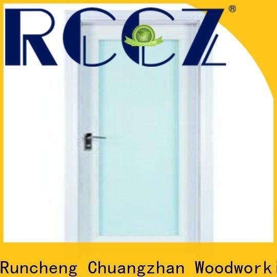 Runcheng Chuangzhan attractive wooden double glazed doors supply for villas