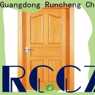 Runcheng Chuangzhan Best wooden flush door price factory for villas