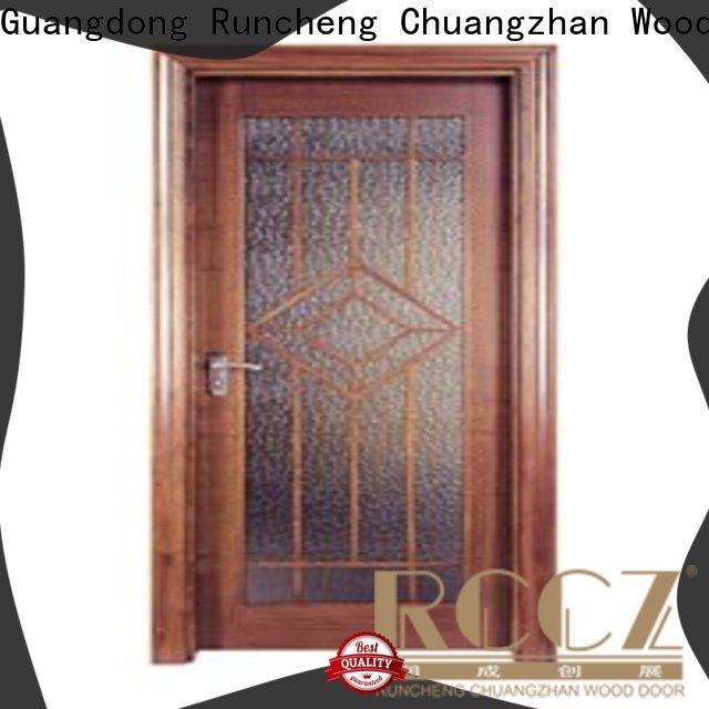 Runcheng Chuangzhan design flush wood door manufacturers manufacturers for villas