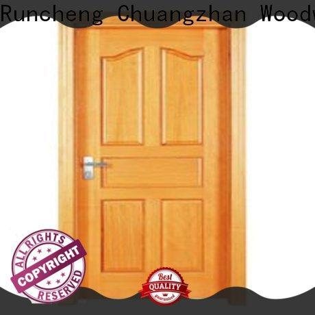 Runcheng Chuangzhan Top wooden flush door factory for villas