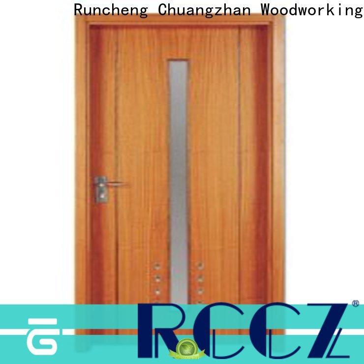 Runcheng Chuangzhan Custom wooden flush door manufacturers supply for homes