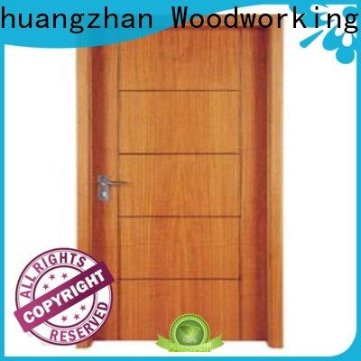 Runcheng Chuangzhan popular wooden flush door manufacturers supply for hotels