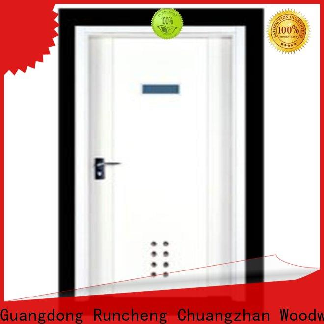 Runcheng Chuangzhan modern wooden flush door price manufacturers for offices