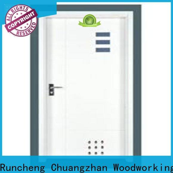 Runcheng Chuangzhan design flush wood door manufacturers factory for villas