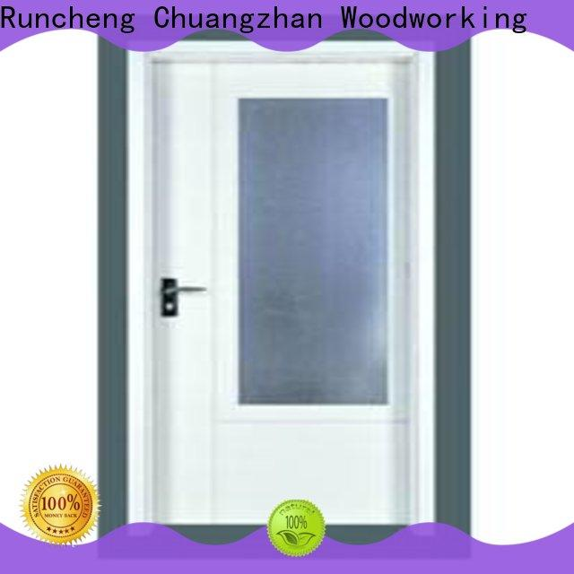 Latest wooden flush door manufacturers modern supply for indoor